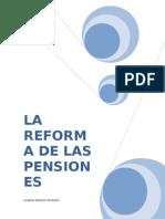 Reformas de Las Pensiones