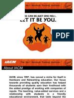 IACM iT Guidance