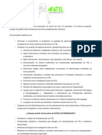 AFATEL Ficha de Inscripcion
