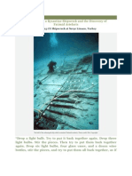 Excavation of a Byzantine Shipwreck and the Discovery of Fatimid