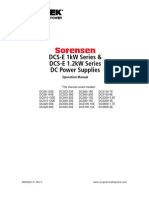 DCS-E 1.2kW-Series Operation Manual M362500-01