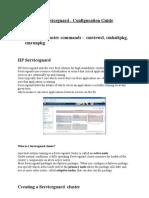 HP Service Guard Configuration Guide