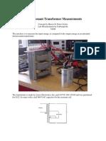 39759366 Ferroresonant Transformer Measurements