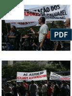 Manifestação dosTrabalhadores da Prodabel
