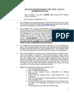 APTET_Instructionbulletin