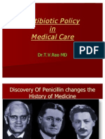 Antibiotic Policy Ppt