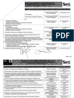 Cronograma Carrera Magisterial 2010-2011