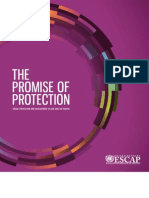 ONU - ESCAP The Promise of Protection. Social Protection and Development in Asia and the Pacific, May 2011