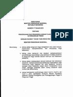 Permendiknas 17 Thn 2010 Tentang Penanggulangan Plagiat