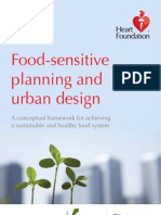 Food-Sensitive Planning and Urban Design
