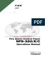 Notifier NFS-320 Operations Manual Rev A