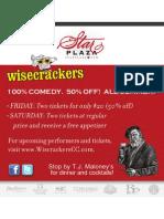 WiseCrackers Summer 2011
