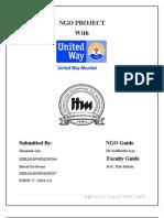 Ngo Project Report-shashank Jain Pgdm(2010-12) 166