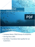 Ocean Blue - A Marketing Promotion of A Project