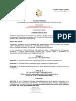 CONSTITUCIÓN POLÍTICA DEL ESTADO LIBRE Y SOBERANO DE CHIHUAHUA