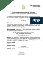 LEY DE LA JUNTA DE ASISTENCIA PRIVADA