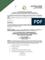 LEY DE AQUISICIONES, ARRENDAMIENTOS, CONTRATACIÓN DE SERVICIOS Y OBRA PÚBLICA DEL ESTADO DE CHIHUAHUA