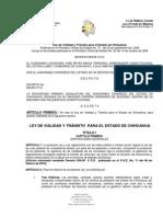 LEY DE VIALIDAD Y TRÁNSITO PARA EL ESTADO DE CHIHUAHUA