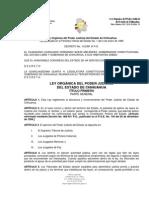 LEY ORGÁNICA DEL PODER JUDICIAL DEL ESTADO DE CHIHUAHUA