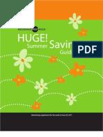 Summer Savings 2011