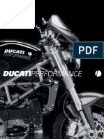 Accesorios Ducati Performance - Monster 2004