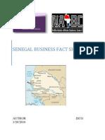 Senegal Business Mission Fact Sheet