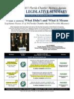 Florida Chamber Legislative Summary