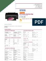 Epson Stylus Photo p50 c11ca45302