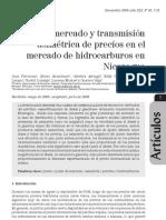 Poder de Mercado y Transmision Asimetrica de Precios en El Mercado de Hidrocarburos en Nicaragua2