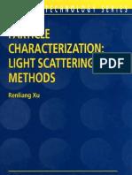 Particle Characterization Light ScatteringMethods_muyac