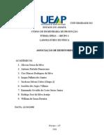 02 - Relatório - Fís - Exp III - Associação de Resistores