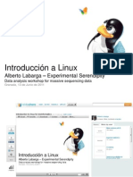 Linux for bioinformatics