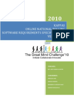 Online National Polling TGMC 2010 REPORT