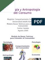 Sociologia y Antropologia Del Consumo
