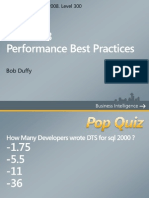 SSIS Best Practices