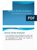Amino Acids Analysis