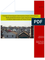 Tenants in Foreclosure Intervention Project