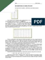 Implement Area CLC Cu Demultiplexoare Si PLA