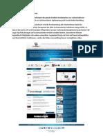 Logoindex24 - Das Handout für die Online-Vermarktungsplattform
