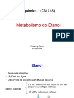 Metabolismo Do Etanol