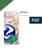 AFPPrinter UserGuide