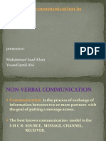 Non-Verbal Communication in Business