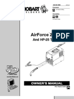 AirForce 250ci Owner's Manual