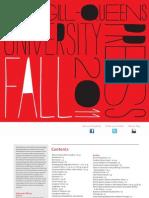 McGil-Queen's University Press Fall 2011 catalogue