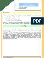 Reserve Estimation Methods 01 Analogy