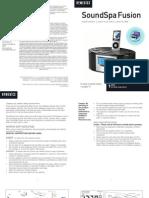 iPod Alarm Clock Manual