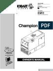 Champion ELITE Owner's Manual