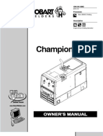 Champion ELITE Owner's Manual
