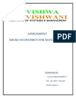 Assignment On Economics