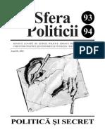 Sfera Politicii 93-94, 2001